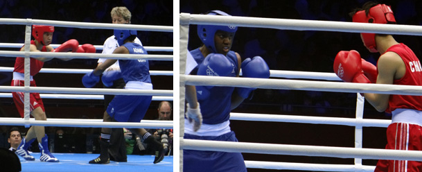 Olympics 2012 ladies boxing final