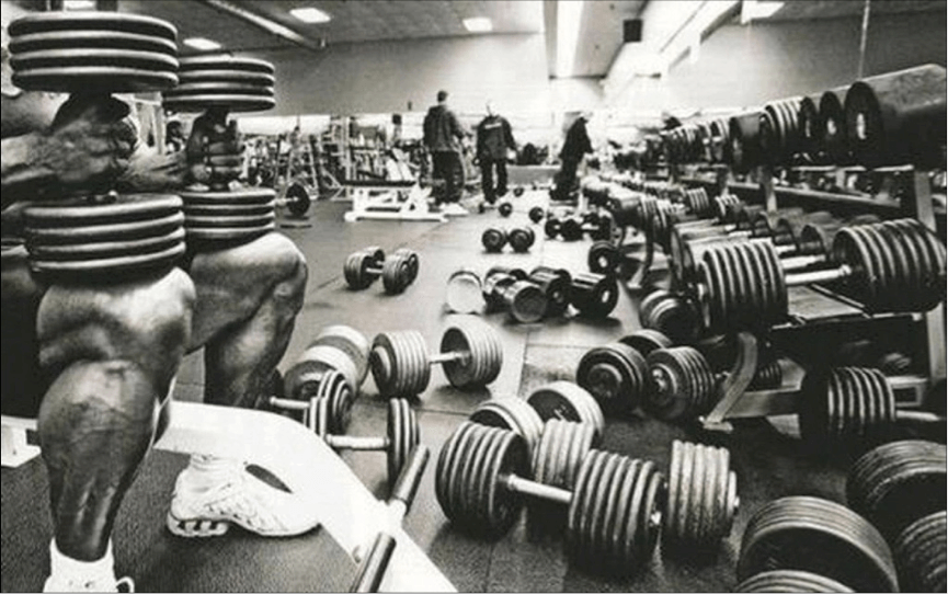 weight lifting in gym etiquette